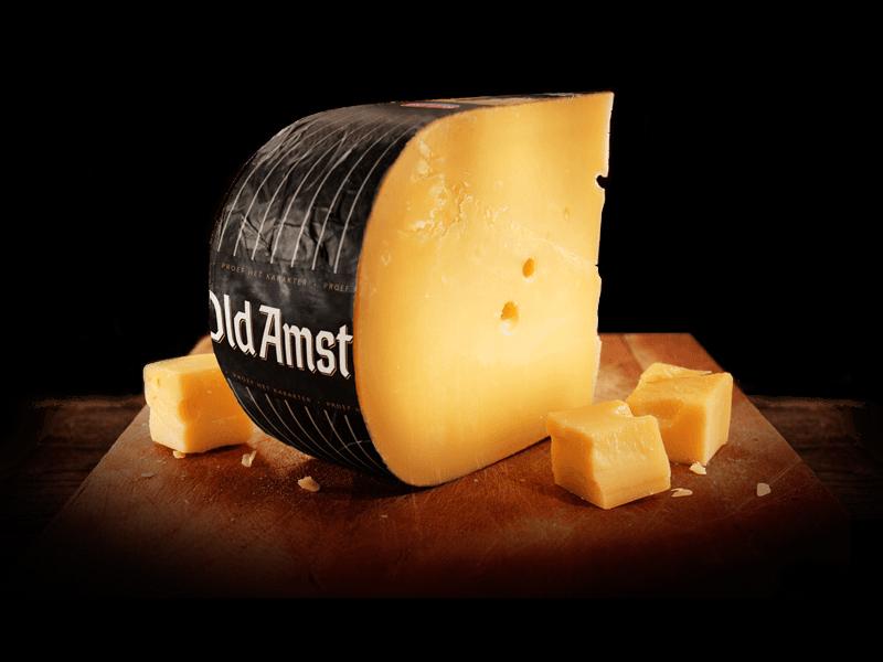maakt kaas dik